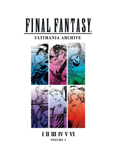 ЕНЦИКЛОПЕДІЯ FINAL FANTASY ULTIMANIA ARCHIVE VOLUME 1 HC