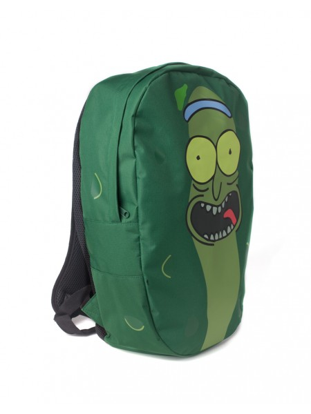 Офіційний рюкзак Rick and Morty - Pickle Rick Shaped Backpack